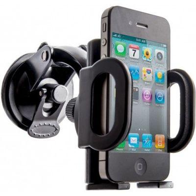 Автомобильный держатель Car holder 101+ 55-120 мм, на стекло/панель