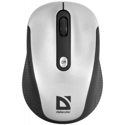 Беспроводная IR-лазерная мышь Optimum MS-125 серый,4 кнопки,1000-2000 dpi