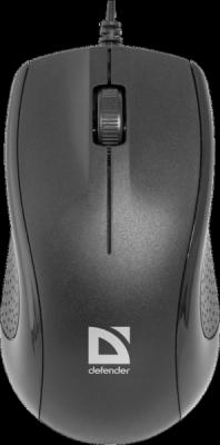 НОВИНКА. Проводная оптическая мышь Optimum MB-160 черный,3 кнопки,1000 dpi