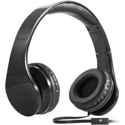 Гарнитура для смартфонов Accord HN-047 черный, кабель 1,2 м