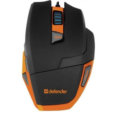 Проводная игровая мышь Warhead GM-1500 оптика,9 кнопок,400-3200dpi