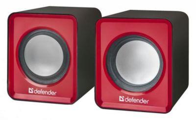 Акустическая 2.0 система SPK 22 красный, 5 Вт, питание от USB