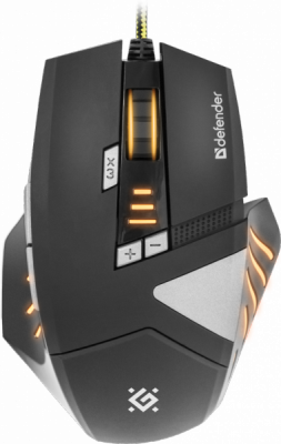 Проводная игровая мышь Warhead GM-1760 оптика,8 кнопок,1000-2500 dpi