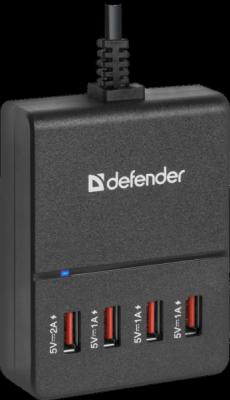 НОВИНКА. Сетевой адаптер UPA-40 4 порта USB, 5V / 5A